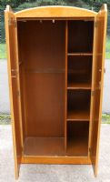 Deco Style Birdseye Maple Small Wardrobe